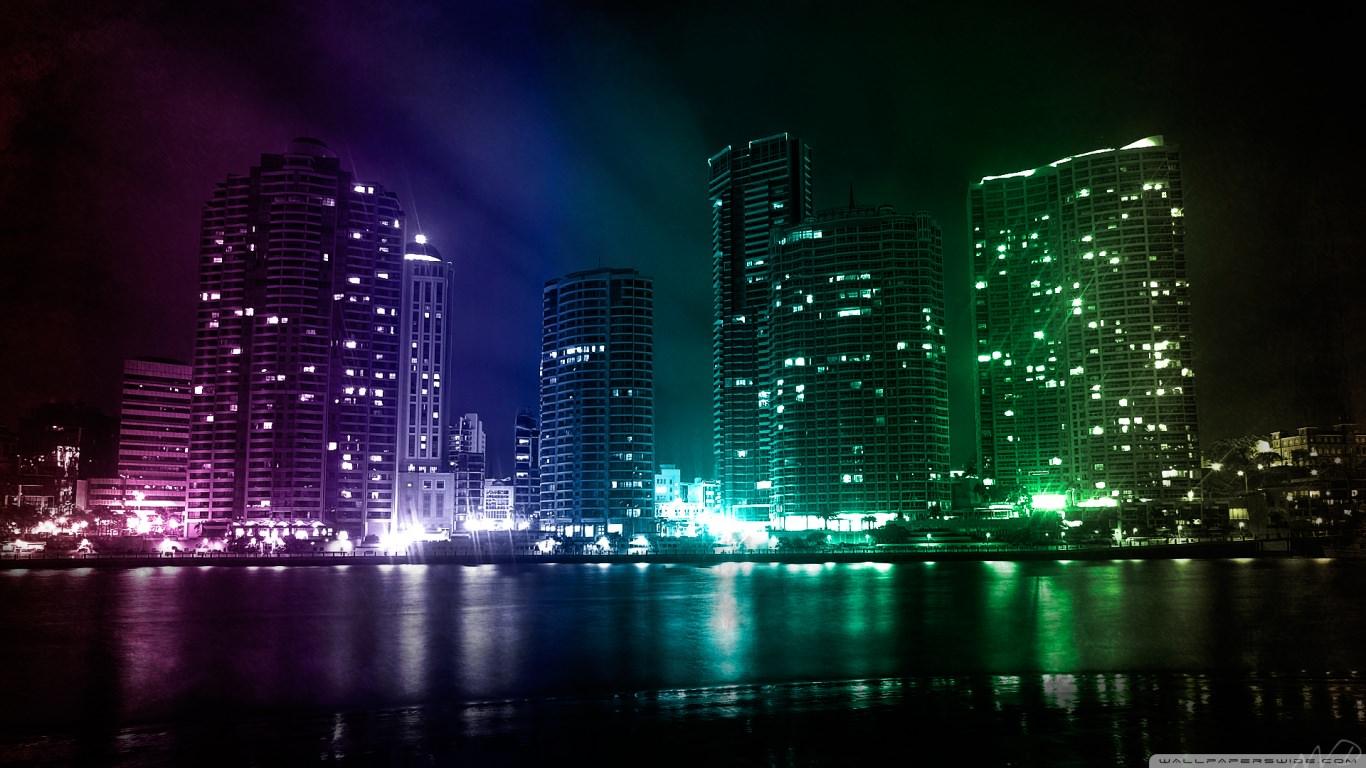 Download City Lights Wallpaper