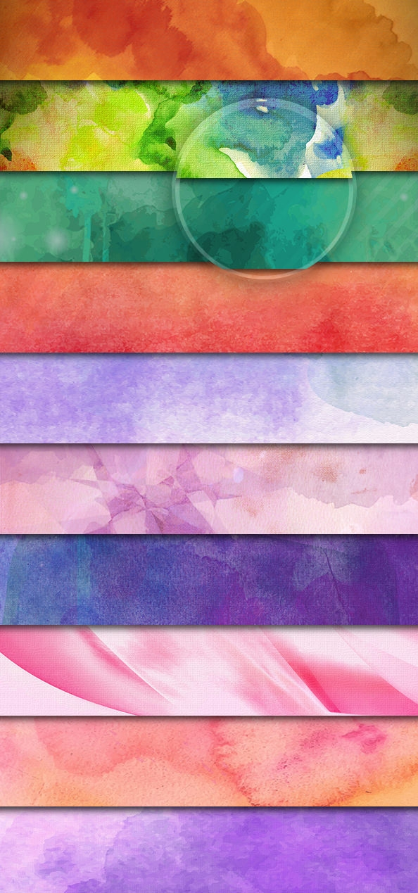 Download Free PSD High Res Watercolor Backgrounds