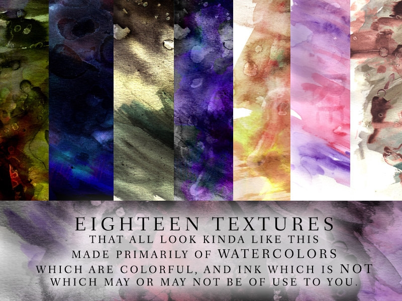 Download Free Watercolor Textures Pack