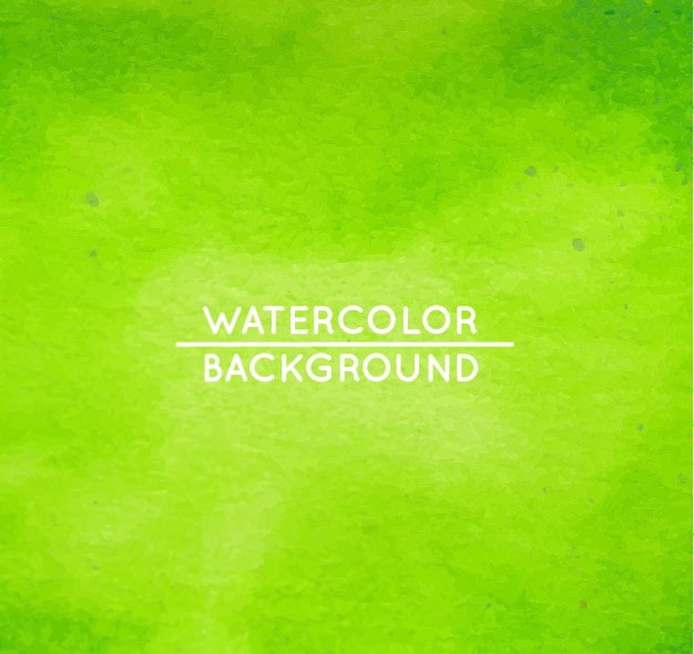 download green watercolor background 1