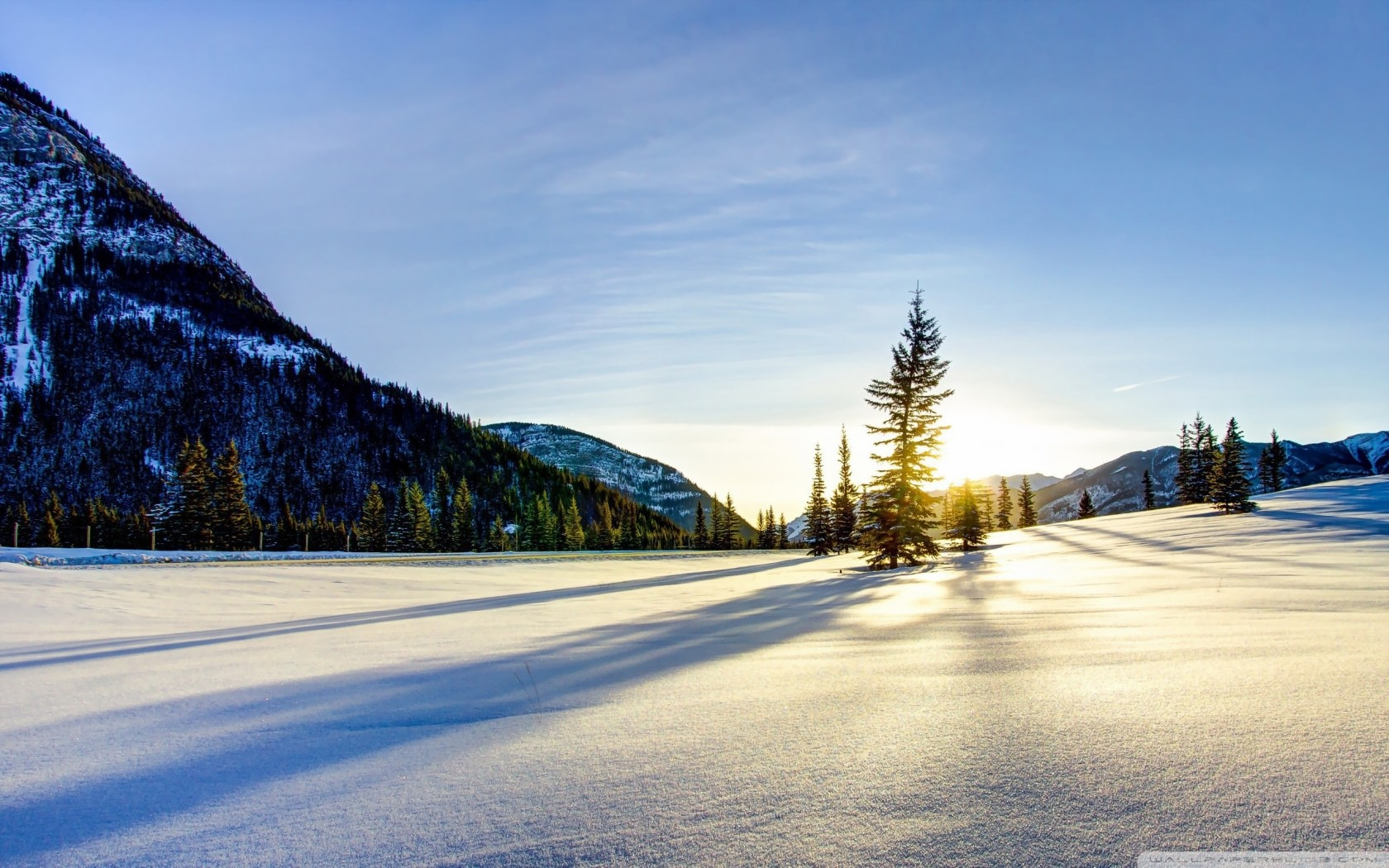 20 hq snow backgrounds wallpapers images freecreatives - Snowy wallpaper ...
