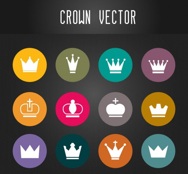 Download Vector Crown Set