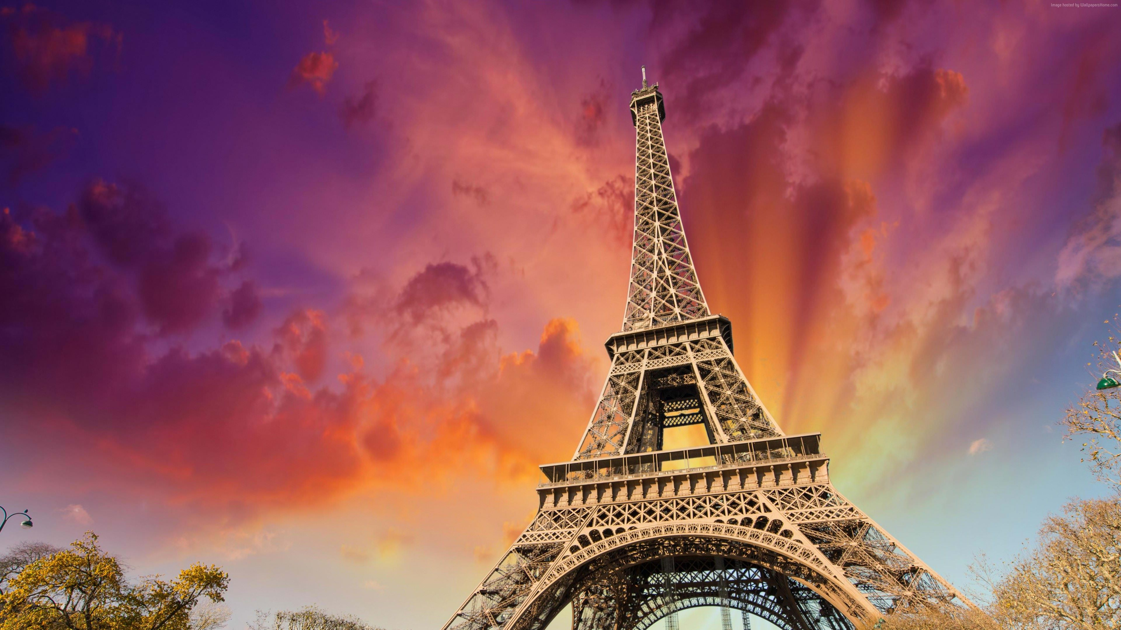 Eiffel Tower Widescreen HD Wallpaper
