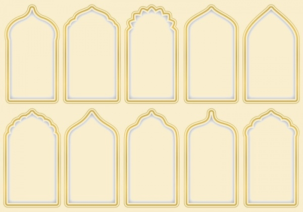 Elegant Arabesque Gates Pattern