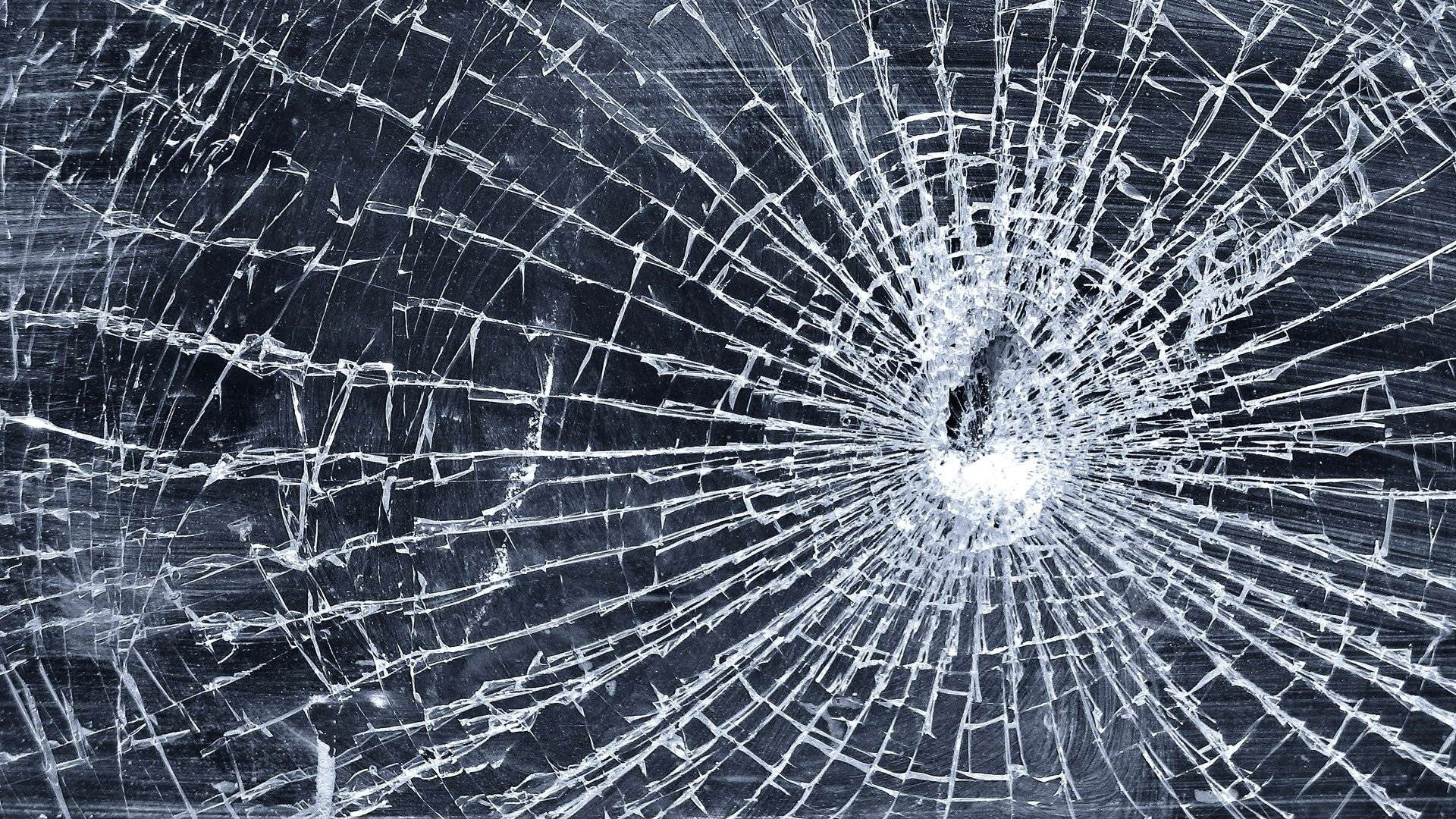 Elegant Cracked Screen Wallpaper
