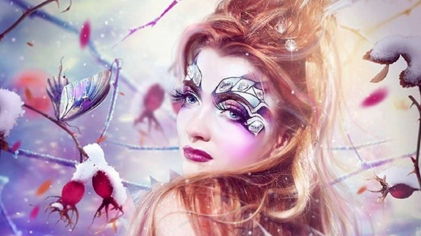 Elegant Crystal Background