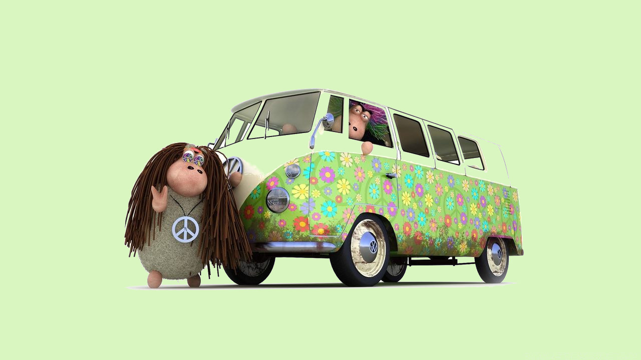 Elegant Hippie Background
