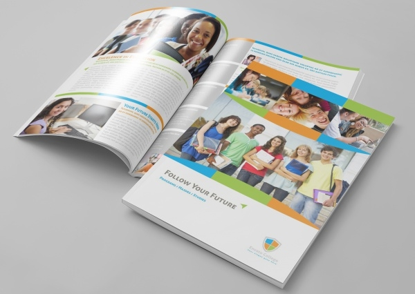 Elegant School & Educational Course Brochure Template