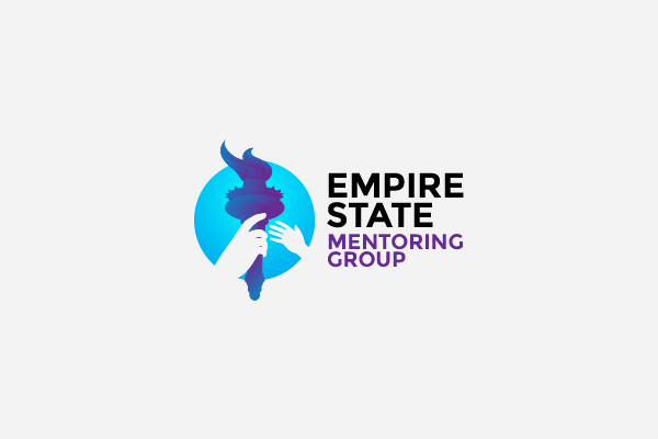 Empire State Mentoring Group Torch Logo