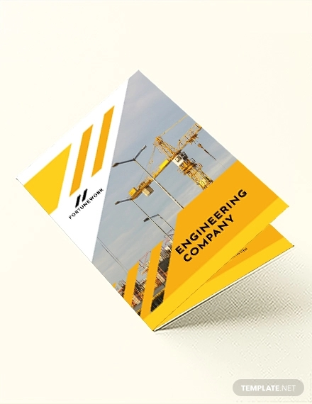 environmental company bi fold brochure