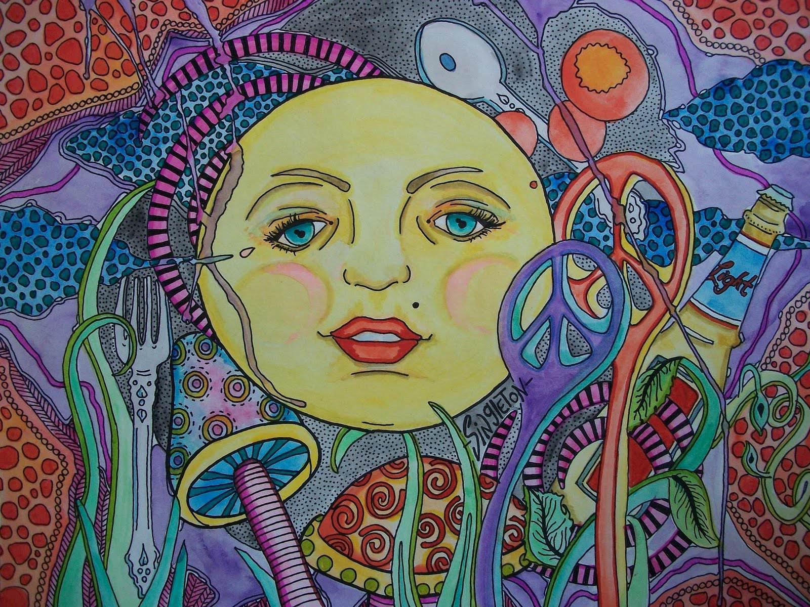 Excellent Hippie Background