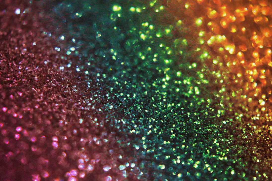 Excellent Rainbow Glitter Bokeh