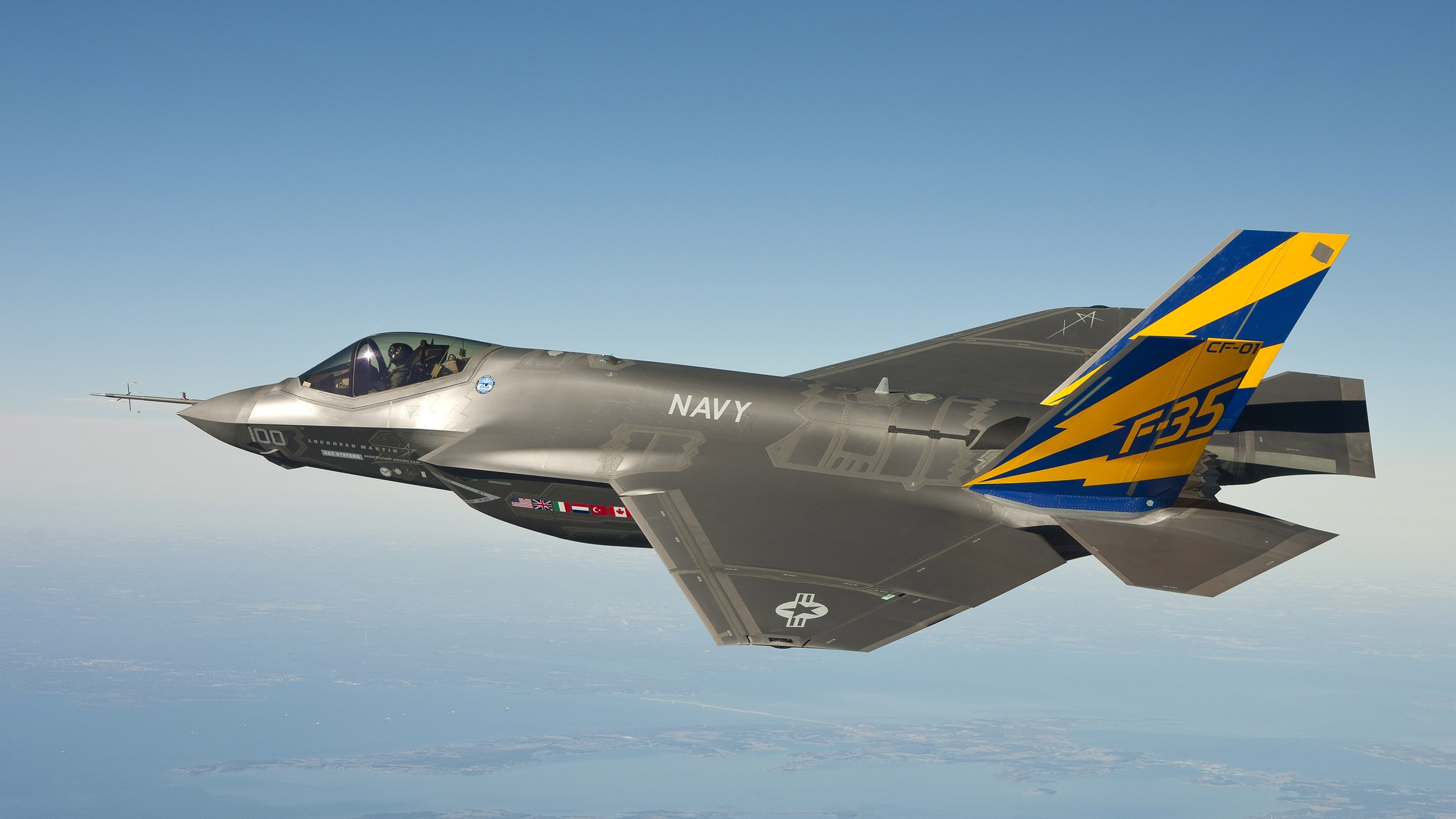 F 35 Fighter Jet Wallpaper