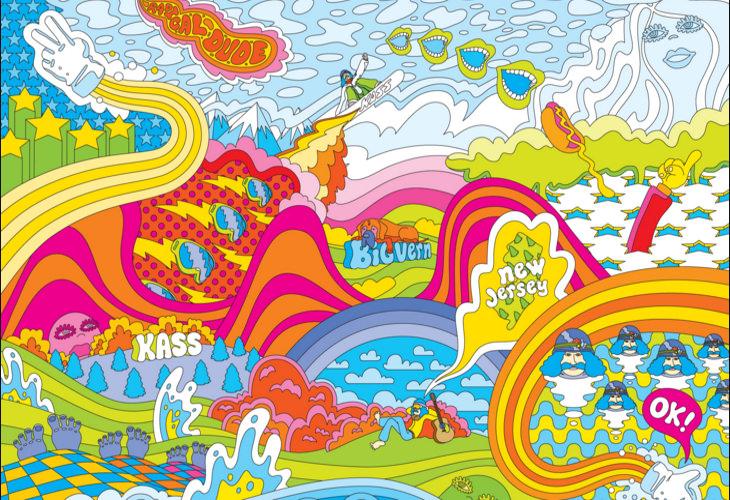 Fabulous Hippie Background