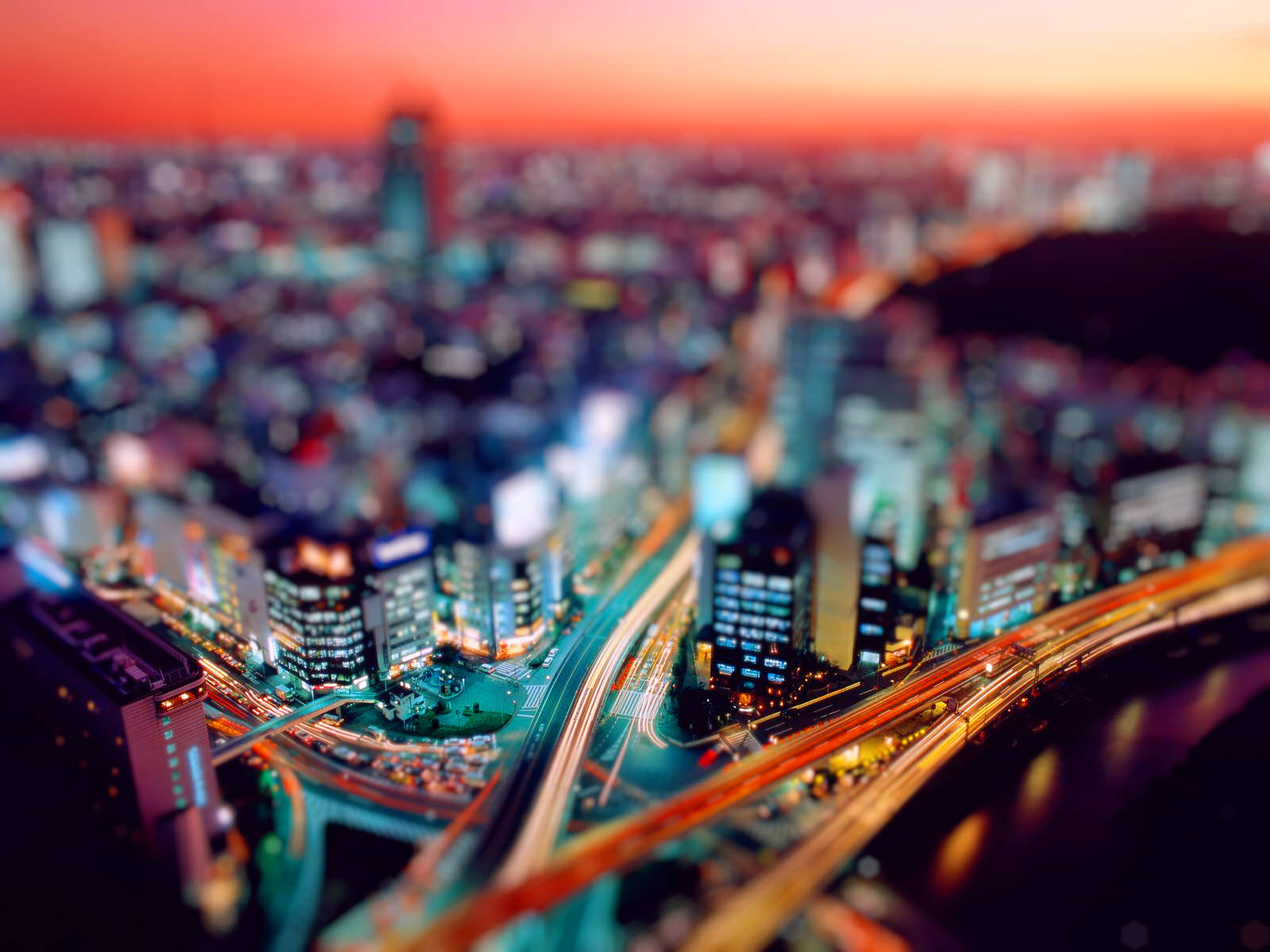 Fabulous Tilt Shift Wallpaper