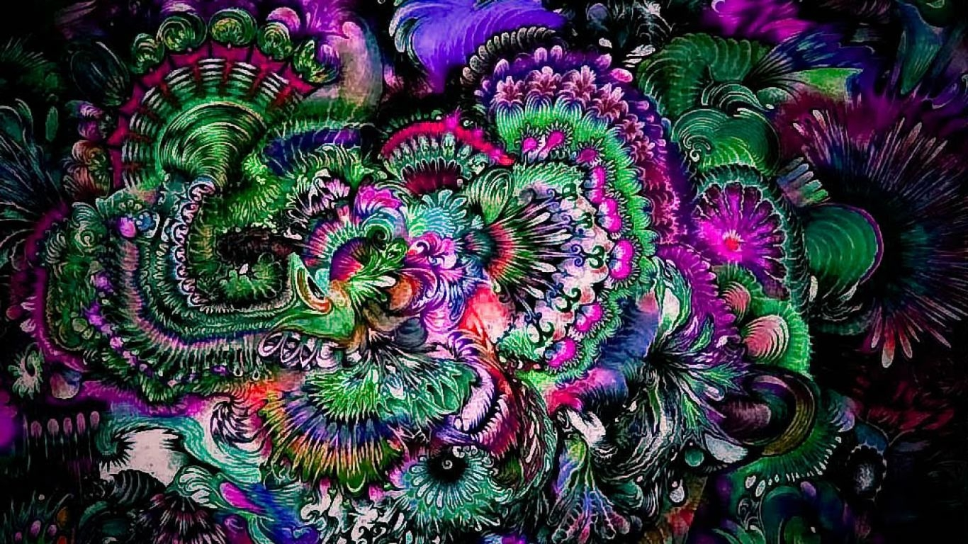 21 Trippy Wallpapers Backgrounds Images FreeCreatives