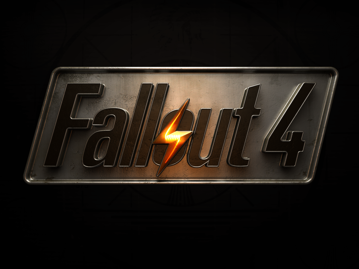 Fallout 4 Animation Metal Logo