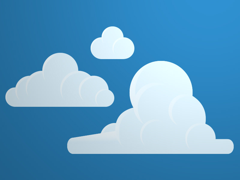 Fantastic Cloud Vector For You