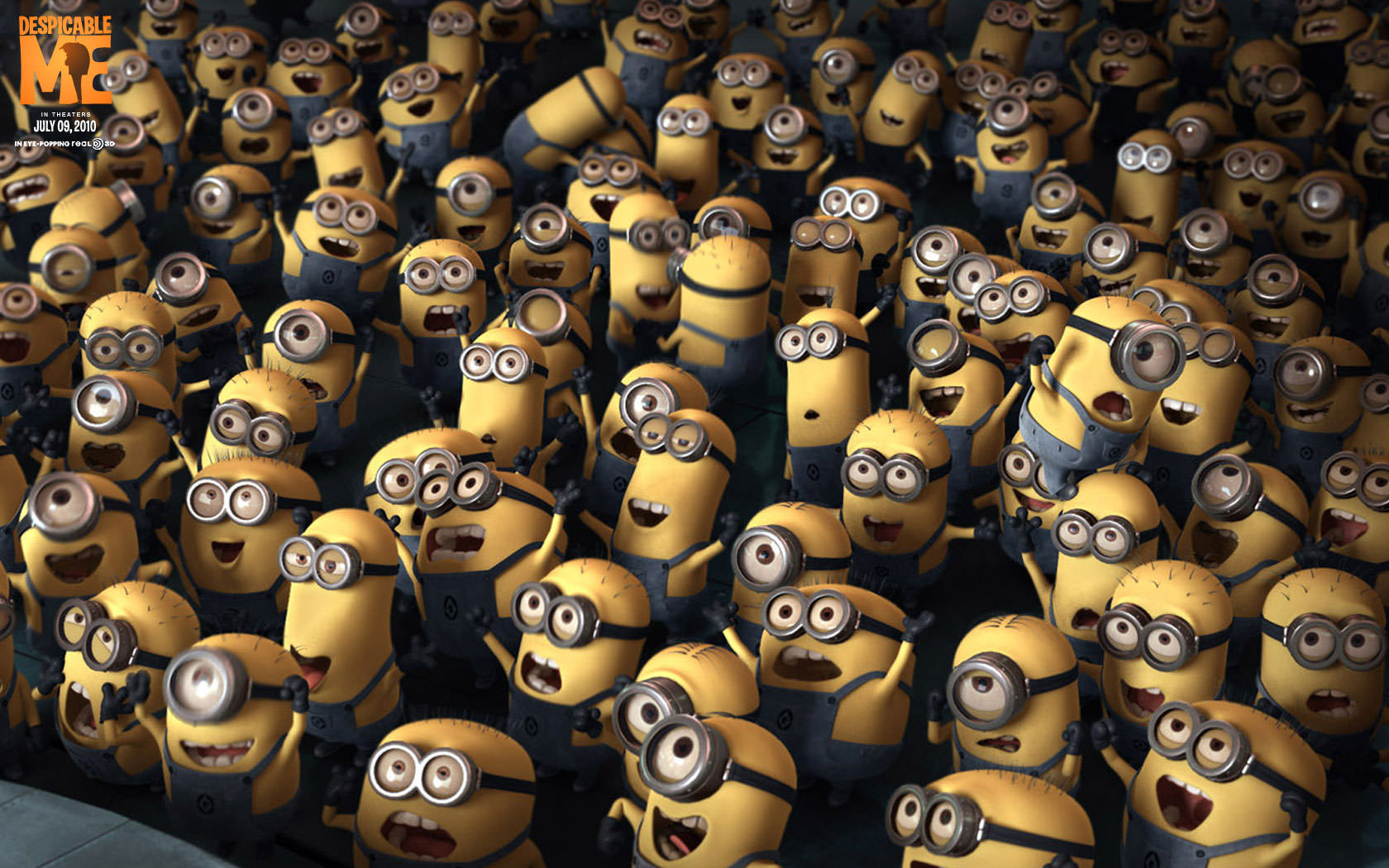 Fantastic Minions Wallpaper