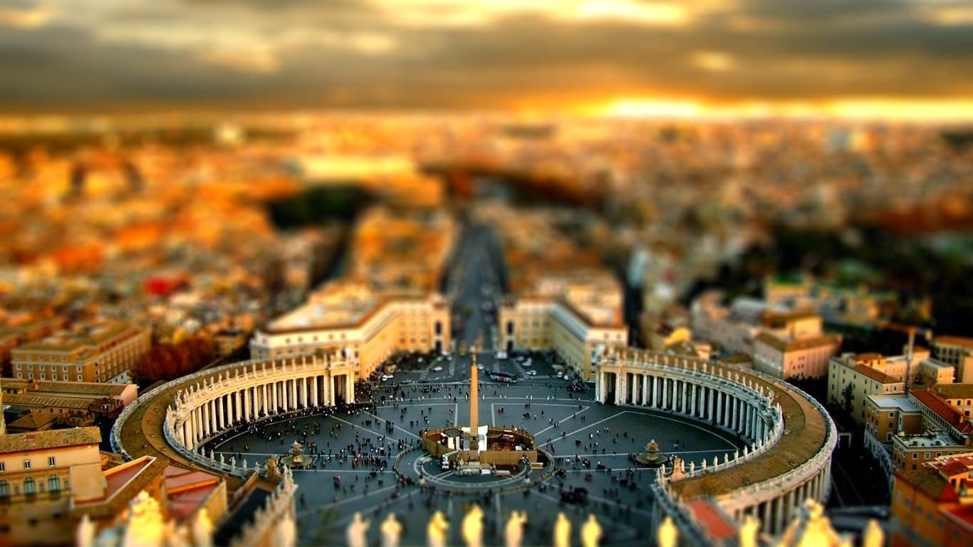 Fantastic Tilt Shift Wallpaper