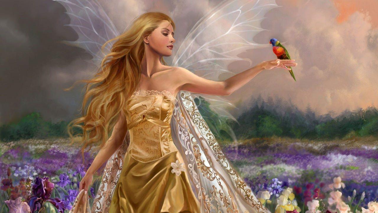 Fantasy Girl Faire Wallpaper