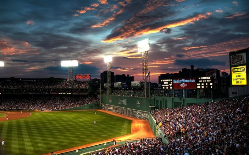 Fenway Park Baseball Stadium Wallpaper