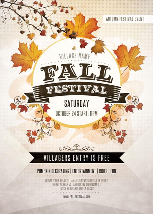 21  festival flyer templates
