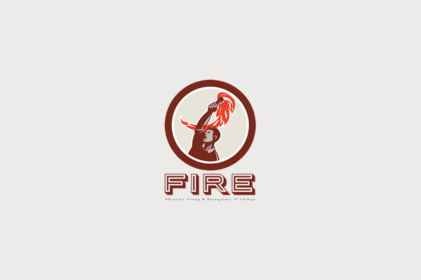 Fire Advocacy Group Torch Logo