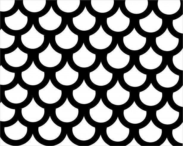 Fish Scales Pattern Doe Download