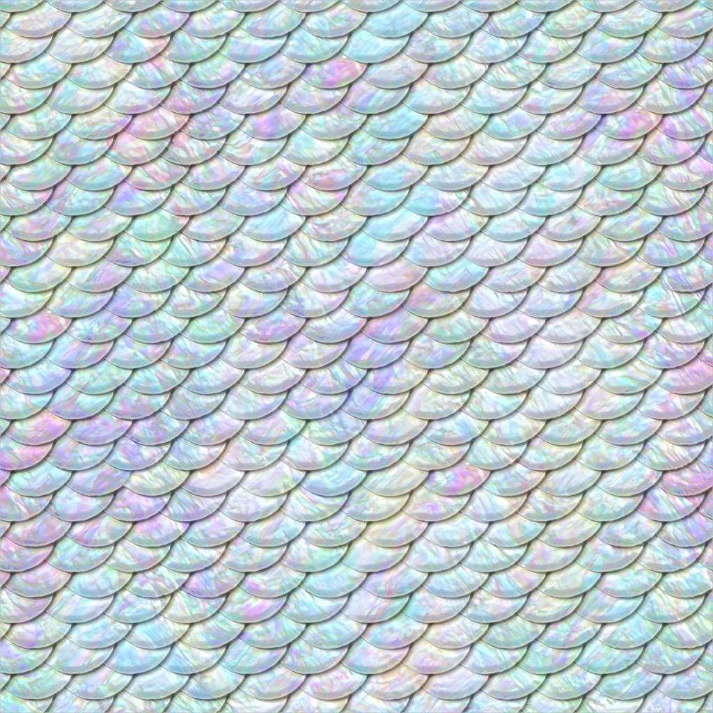 Fish Scales Seamless Pattern