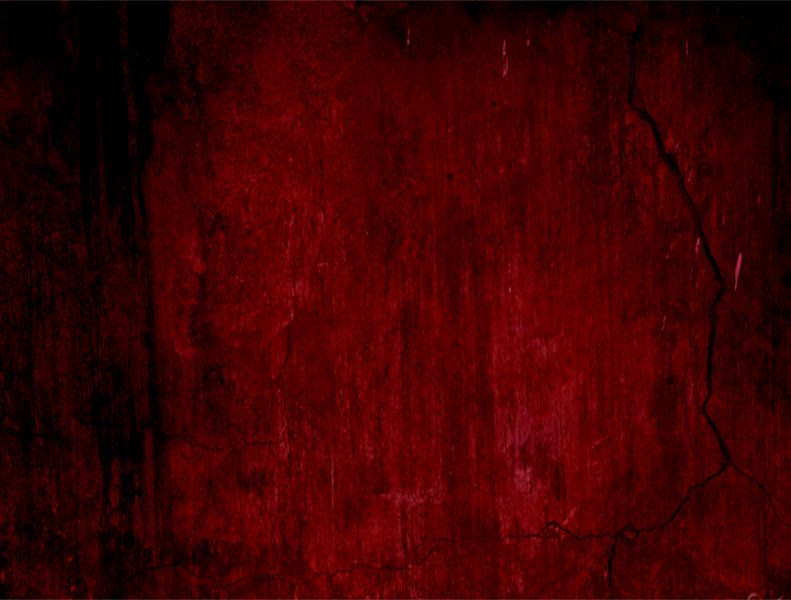 Flat Red Grunge Background