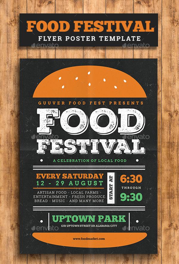 Food Festival Poster Flyer