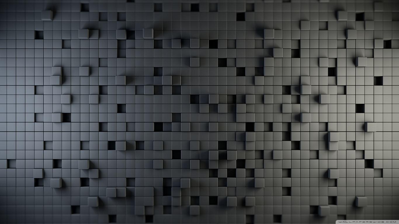 Free 3D Cubes Wallpaper