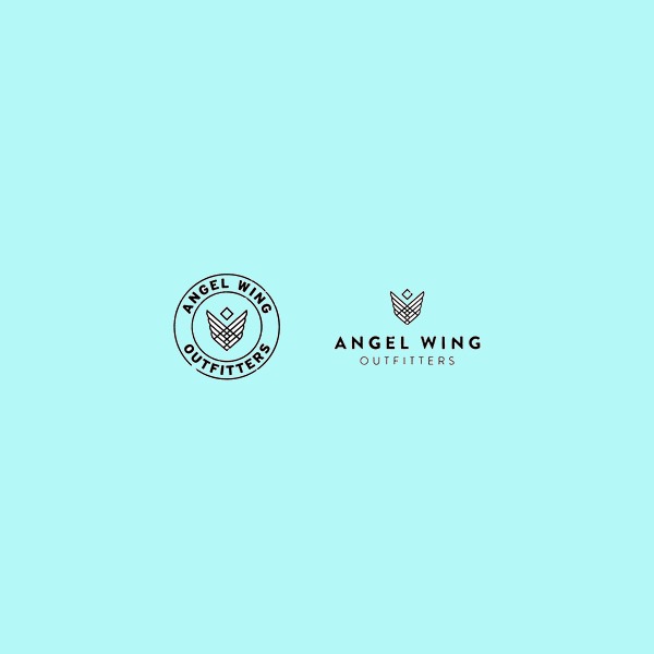 Free Angel Wing Logo