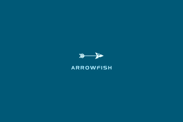 Free Arrow Fish Logo