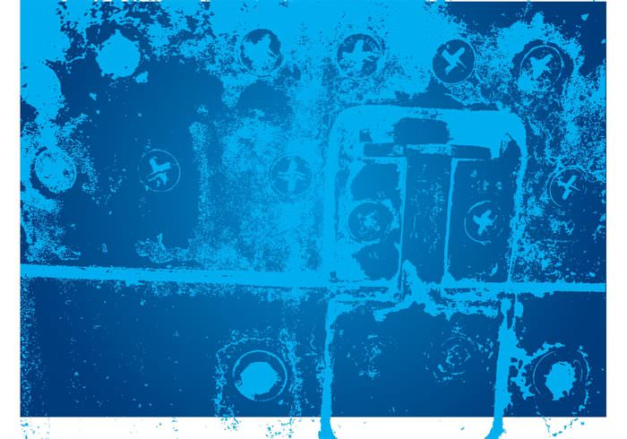 Free Blue Grunge Textured Background