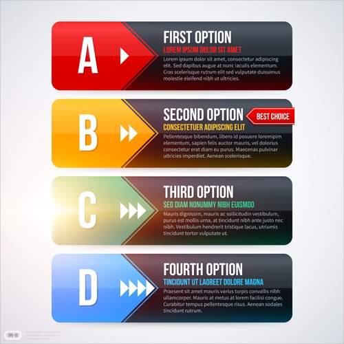 free corporate banners template vector
