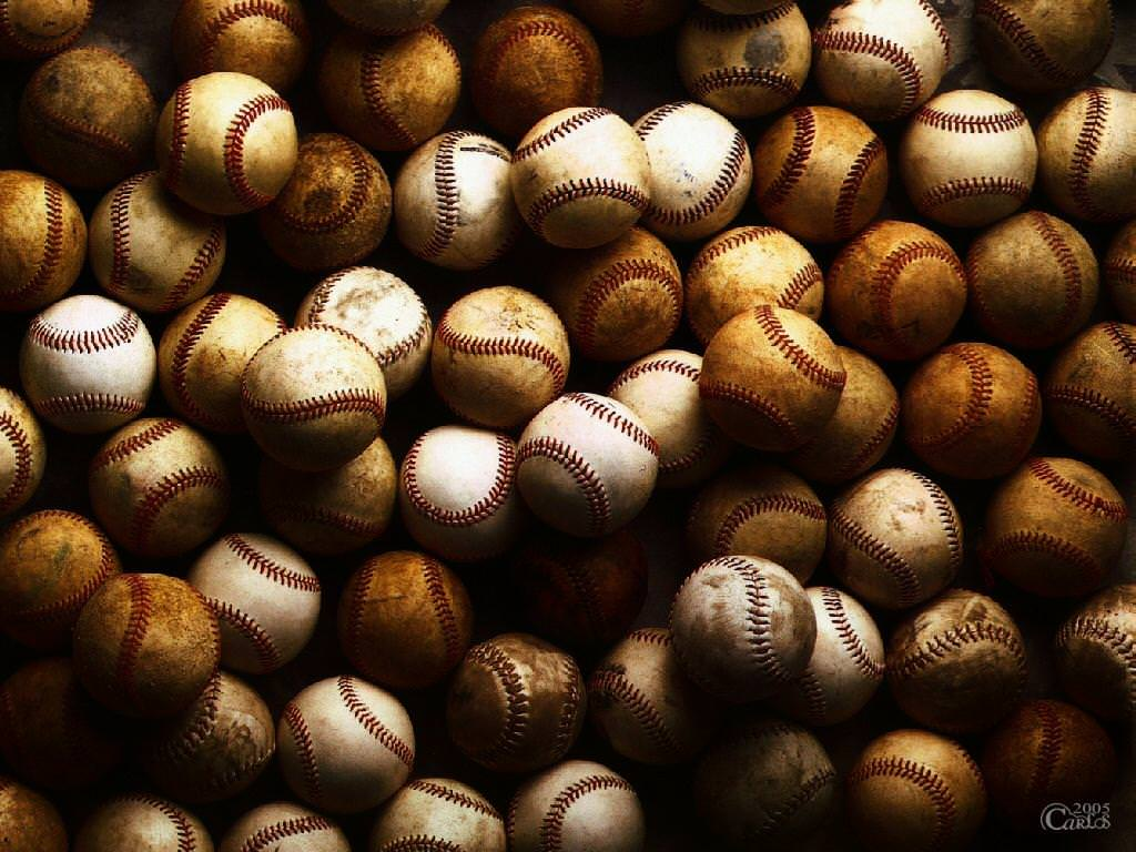 Free Dirty Baseball Background