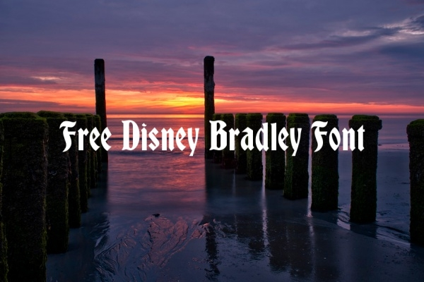 free-disney-bradely-font