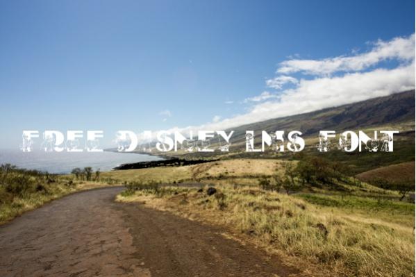 Free Disney LMS Font