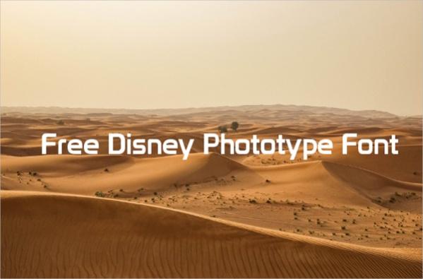 free-disney-phototype-font