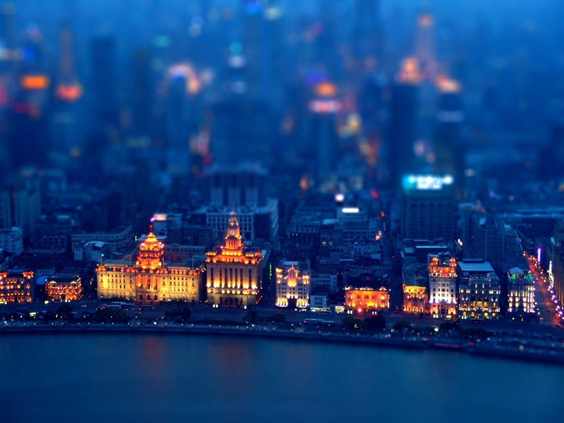 Free HD Tilt Shift Wallpaper For You