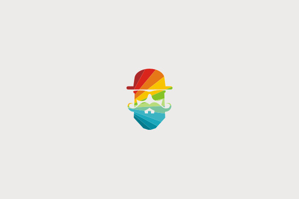 Free Hipster Color Logo
