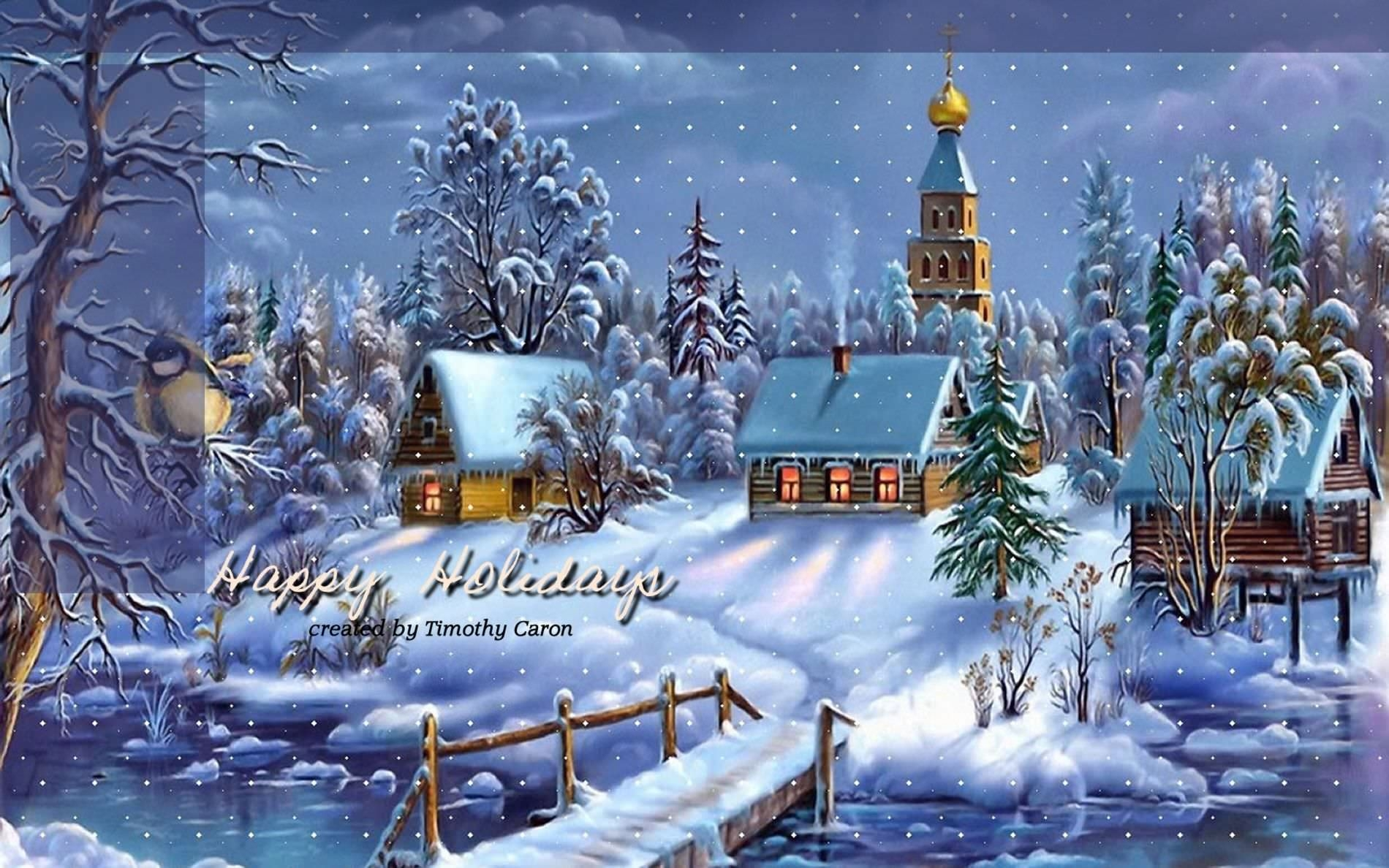 Free Holiday Desktop Backgrounds