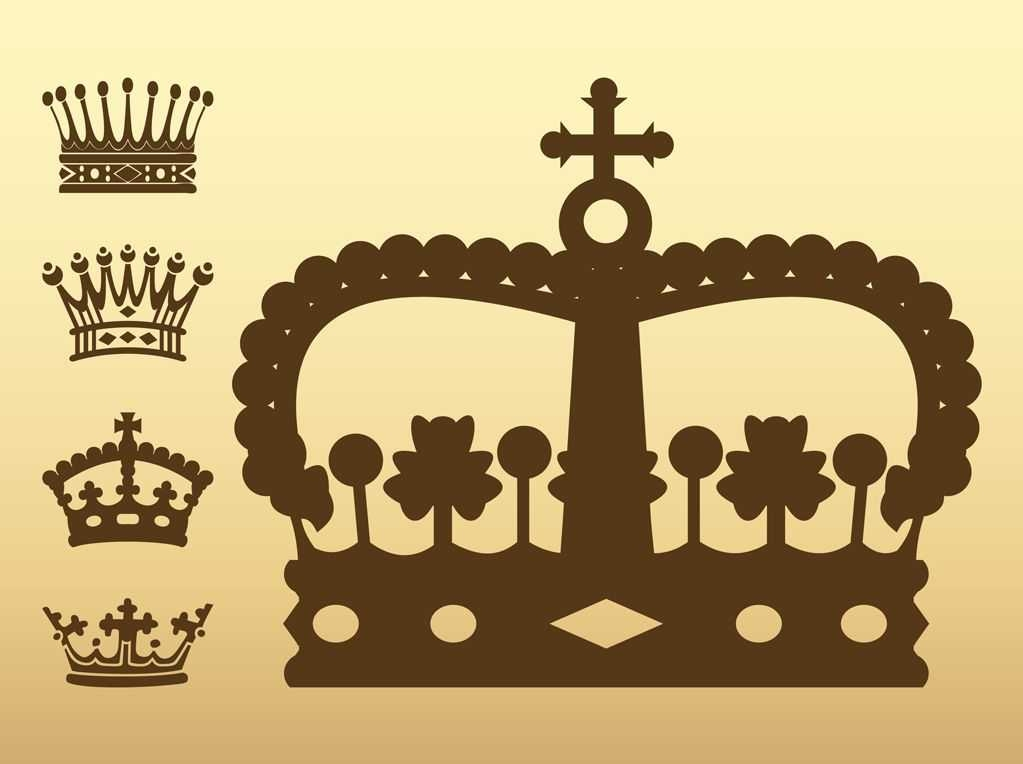 Free King crown Vectors