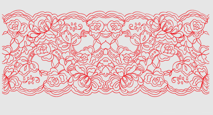 Free Lace Pattern