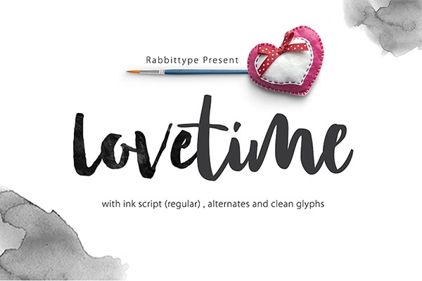 Free Lovetime Script Font