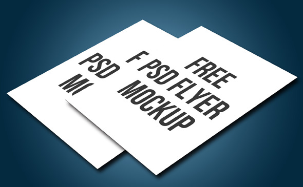 10 Free Psd A4 Flyer Mockups Flyer Mockups Freecreatives