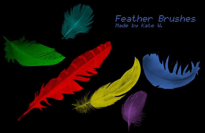 Free Photoshop Feather Brushes