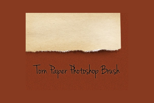 free photoshop torn brushes